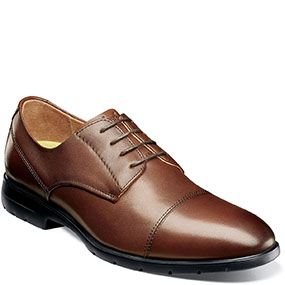 Westside Cap Toe Oxford  in 啡色 for $992.00